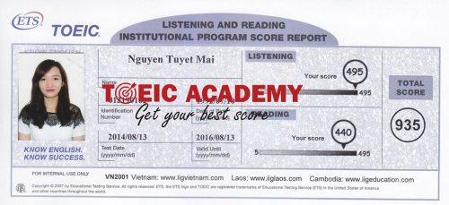 Nguyen-Tuyet-Mai-935-Toeic