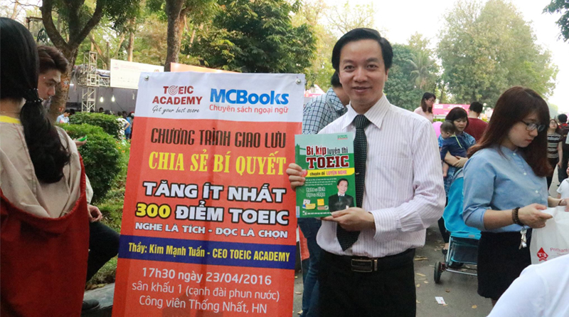 Thay Kim Tuan - CEO & Founder TOEIC Academy