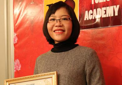 Cô Diệp Hà – Trưởng phòng Đào tạo Toeic Academy