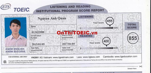 855 Nguyen Anh Quan 855