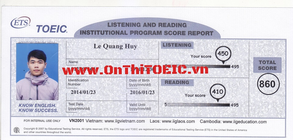 860 Le Quang Huy 860