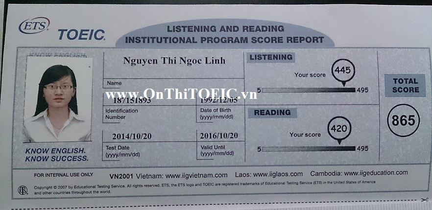 865 Nguyen Thi Ngoc Linh 865