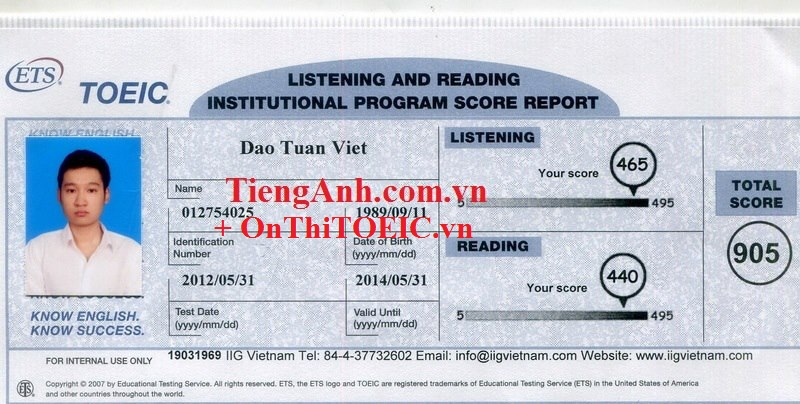 905 Dao Tuan Viet