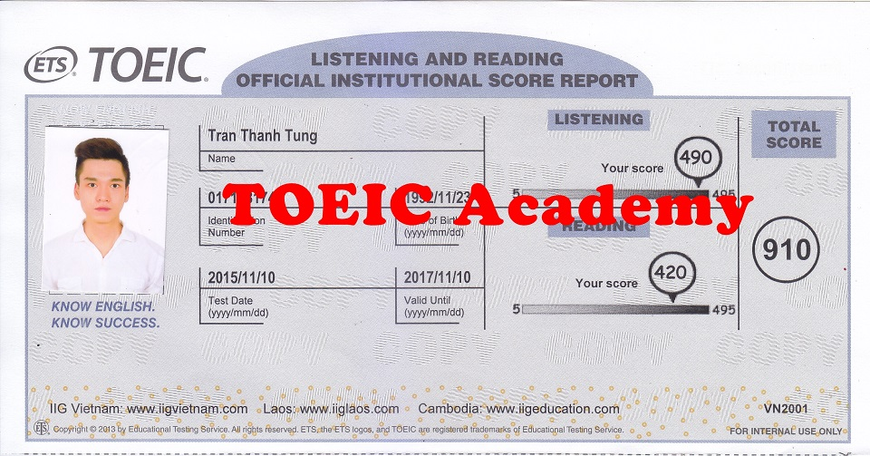 910 Tran Thanh Tung - 910