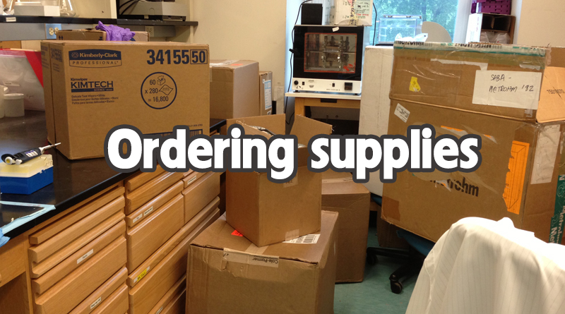 Ordering-supplies