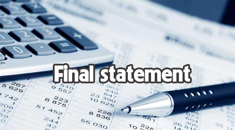 final-statement