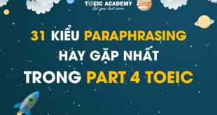 Paraphrasing-part-4-toeicacademy