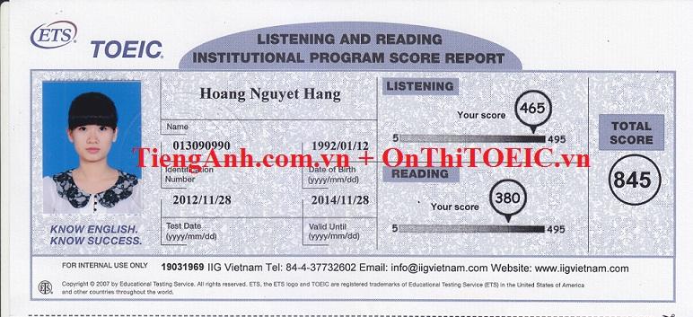 845 Hoang Nguyet Hang