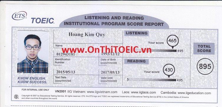 895 Hoang Kim Quy 895